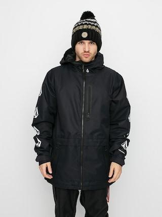 Snowboardovu00e1 bunda Volcom Deadlystones Ins (black)