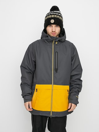 Snowboardová bunda Volcom Deadlystones Ins (dark grey)