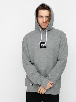Mikina s kapucňou MassDnm Quad HD (light heather grey)