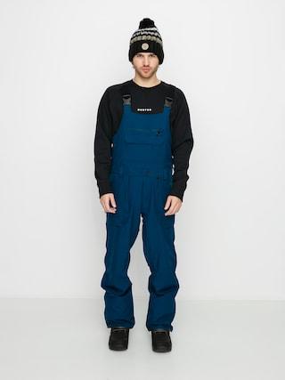 Snowboardovu00e9 nohavice Volcom Roan Bib Overall (blue)