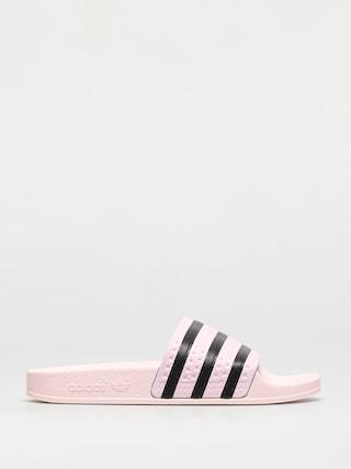u0160u013eapky adidas Originals Adilette Wmn (clpink/clpink/cblack)