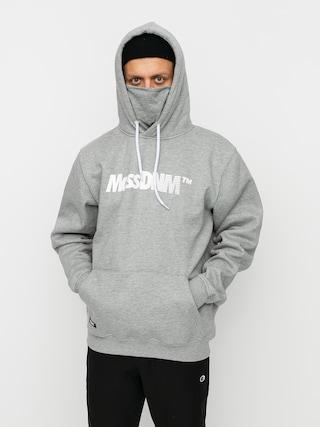 Mikina s kapucňou MassDnm Shock HD (light heather grey)