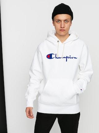 Mikina s kapucu0148ou Champion Sweatshirt HD 215210 (wht)