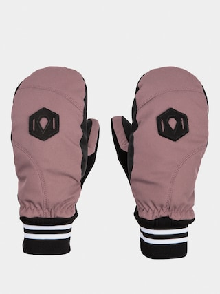 Rukavice Volcom Bistro Mitt Wmn (rose wood)