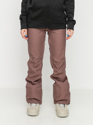 Snowboardovu00e9 nohavice Volcom Species Stretch Wmn (rose wood)