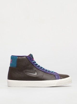 Topu00e1nky Nike SB Zoom Blazer Mid Premium (baroque brown/white green abyss)