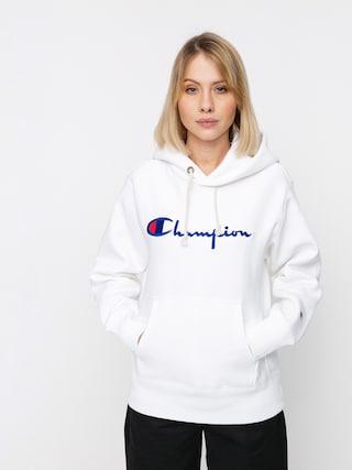 Mikina s kapucu0148ou Champion Sweatshirt HD 113794 Wmn (wht)