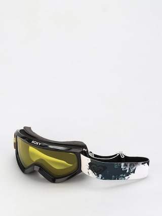 Snowboardovu00e9 okuliare Roxy Day Dream Bad Weather Wmn (true black inkstain)