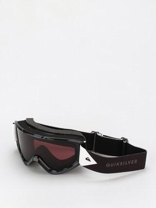 Snowboardovu00e9 okuliare Quiksilver Sherpa (true black)