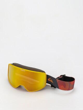 Snowboardovu00e9 okuliare Quiksilver Storm (flame orange)