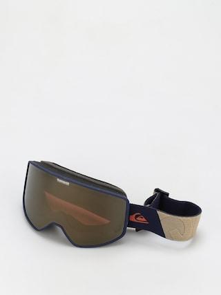 Snowboardovu00e9 okuliare Quiksilver Storm (navy blazer)