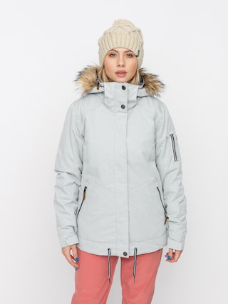 Snowboardovu00e1 bunda Roxy Meade Wmn (heather grey)