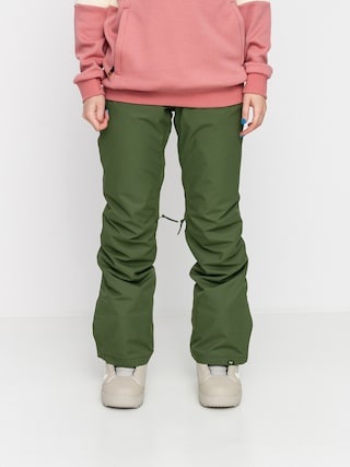Snowboardové nohavice Roxy Backyard Wmn (bronze green)