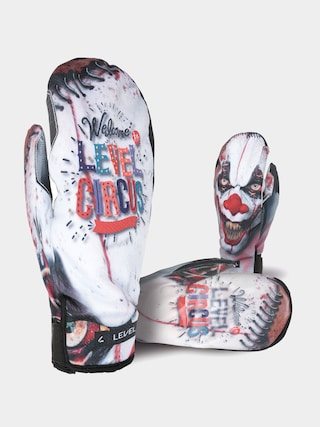 Rukavice Level Pro Rider Mitt (pk white)