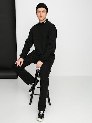 Mikina MassDnm Club Turtleneck (black)