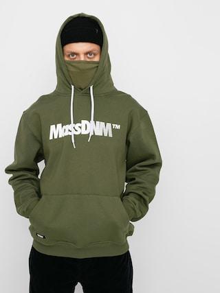 Mikina s kapucňou MassDnm Shock HD (khaki)