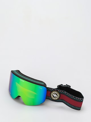 Snowboardovu00e9 okuliare Quiksilver Switchback (true black capsule stripe)