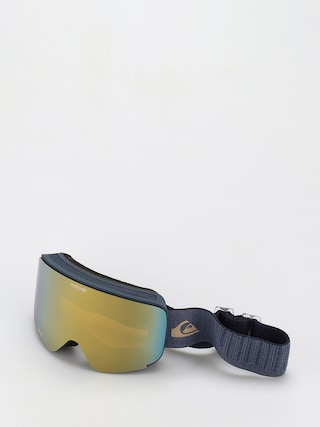 Snowboardovu00e9 okuliare Quiksilver Switchback (navy blazer)
