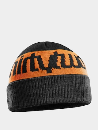 u010ciapka ThirtyTwo Double Beanie (black/orange)