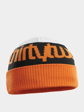 u010ciapka ThirtyTwo Double Beanie (white/orange)