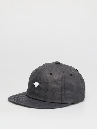u0160iltovka Diamond Supply Co. Brilliant Checkered Cross Unstructured 6 Panel ZD (black)