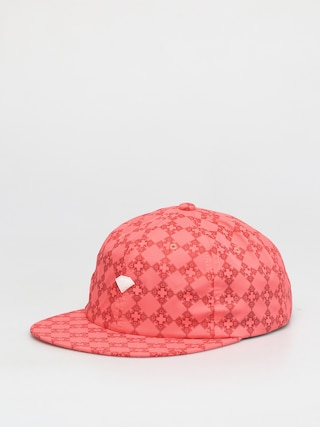 u0160iltovka Diamond Supply Co. Brilliant Checkered Cross Unstructured 6 Panel ZD (coral)