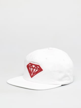 u0160iltovka Diamond Supply Co. Brilliant Unstructured Snapback ZD (white)