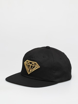 u0160iltovka Diamond Supply Co. Brilliant Unstructured Snapback ZD (black)