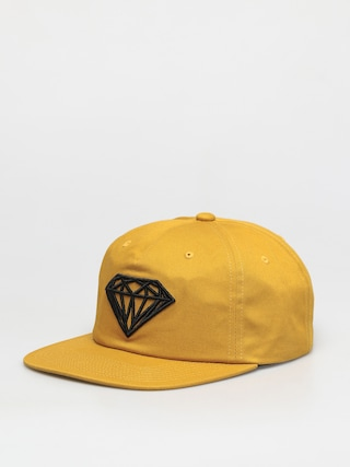 u0160iltovka Diamond Supply Co. Brilliant Unstructured Snapback ZD (mustard)