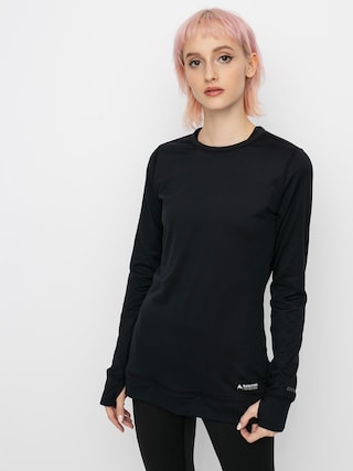 Termotriko Burton Midweight Base Layer Crew Wmn (true black)