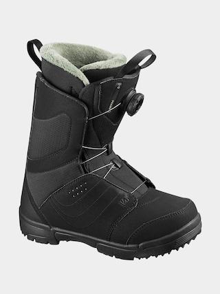 Obuv na snowboard Salomon Pearl Boa Wmn (black/black/tropical p)