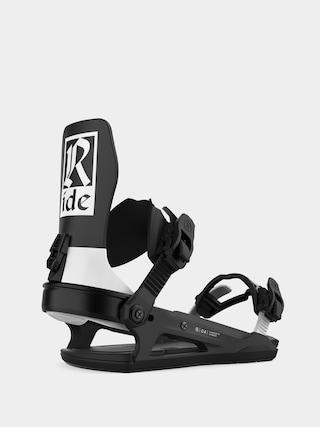 Snowboardovu00e9 viazanie Ride C 6 (classic black)