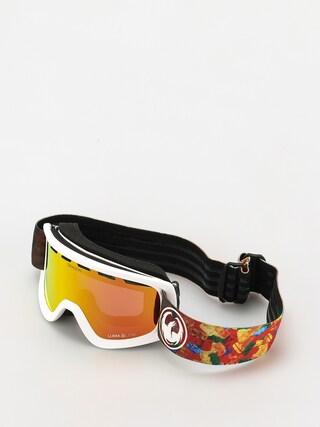 Snowboardovu00e9 okuliare Dragon Lil D (gummy bears/ll red ion)