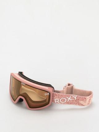 Snowboardovu00e9 okuliare Roxy Feenity Wmn (dusty rose)