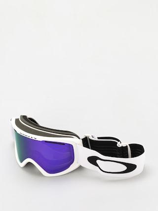 Snowboardovu00e9 okuliare Oakley O Frame 2 0 Pro XL (matte white/violet iridium & persimmon)