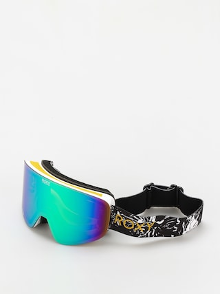 Snowboardovu00e9 okuliare Roxy Feelin Wmn (true black tiger camo)