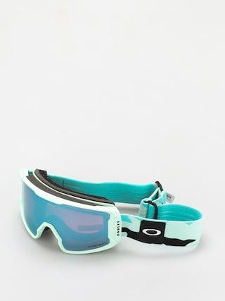 Snowboardovu00e9 okuliare Oakley Line Miner XM (jasmine celeste camo/prizm snow sapphire)