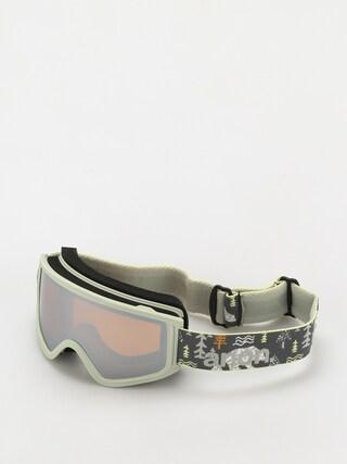 Snowboardovu00e9 okuliare Anon Tracker 2.0 (polar bear gray/silver amber)