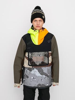 Snowboardová bunda DC Asap Anorak Se (repurpose multi camo/opticool)