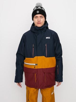 Snowboardovu00e1 bunda Picture Pure (dark blue camel)