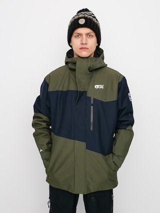 Snowboardovu00e1 bunda Picture Styler (dark blue army green)