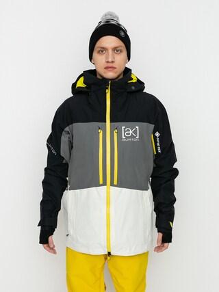 Snowboardovu00e1 bunda Burton Ak Gore Tex Swash (true black/castlerock/white mist)