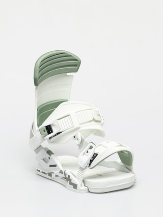 Snowboardovu00e9 viazanie Drake Reload (light grey/green)