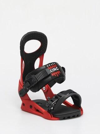 Snowboardovu00e9 viazanie Drake King Smu (red/black)