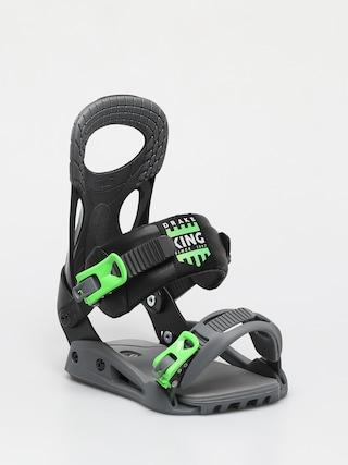 Snowboardovu00e9 viazanie Drake King Smu (neon green/black)
