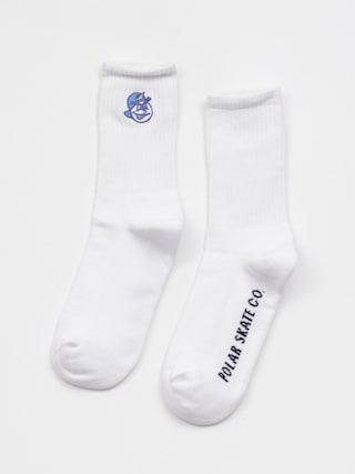 Ponožky Polar Skate 93S (white)