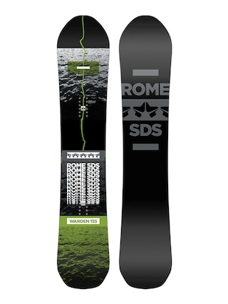 Snowboard Rome Warden (black/grey)