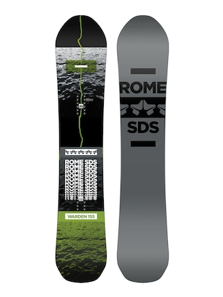 Snowboard Rome Warden (grey/black)
