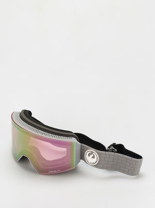 Snowboardovu00e9 okuliare Dragon Rvx Otg (cool grey/ll pink ion/ll dark smoke)