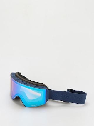 Snowboardovu00e9 okuliare Dragon Rvx Otg (navy/ll flash blue/ll dark smoke)